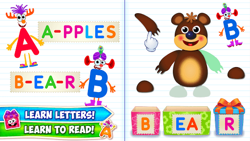 Baby ABC in box! Kids alphabet games for toddlers! pc screenshot 1