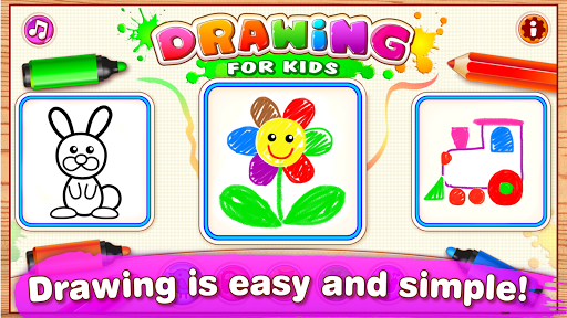 Drawing for Kids Learning Games for Toddlers age 3 pc screenshot 1