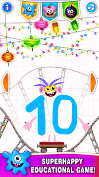Learning numbers for kids! Writing Counting Games! pc screenshot 1