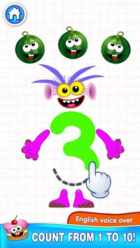 Learning numbers for kids! Writing Counting Games! pc screenshot 2