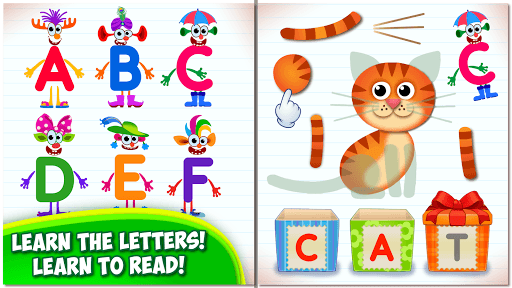 Bini Super ABC! Preschool Learning Games for Kids! pc screenshot 1