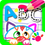 ABC DRAW! Alphabet games Preschool! Kids DRAWING 2 for pc logo