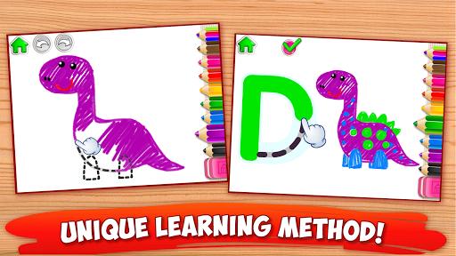 ABC DRAW! Alphabet games Preschool! Kids DRAWING 2 pc screenshot 2