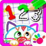 Bini 123 Draw🎨 Toddler Counting Drawing for Kids icon