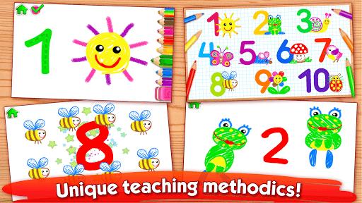 Bini 123 Draw🎨 Toddler Counting Drawing for Kids pc screenshot 1