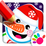 Drawing Christmas for Kids Drawing Games for Girls icon