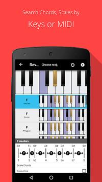 Piano Chord, Scale, Progression Companion pc screenshot 1