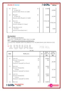 Account Class-11 Solutions (TS Grewal) pc screenshot 1