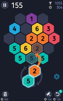 Make7! Hexa Puzzle pc screenshot 1