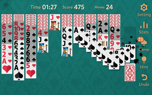 Spider Solitaire: Kingdom pc screenshot 1