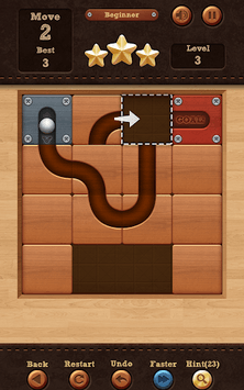 Roll the Ball® - slide puzzle pc screenshot 2