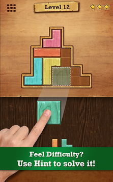 Wood Block Puzzle pc screenshot 1