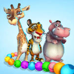 Marble Wild Friends - Shoot & Blast Marbles icon