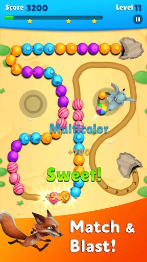 Marble Wild Friends - Shoot & Blast Marbles PC screenshot 1