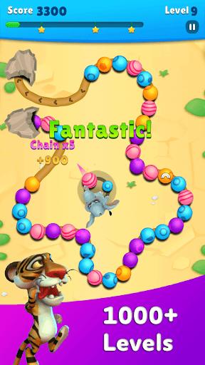 Marble Wild Friends - Shoot & Blast Marbles PC screenshot 2
