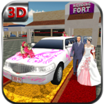 City Bridal Limo Car Simulator icon