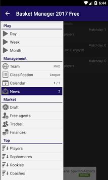 Basket Manager 2017 Free pc screenshot 1