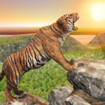 Ultimate Tiger Family Wild Animal Simulator Games for pc logo