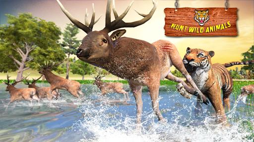 Ultimate Tiger Family Wild Animal Simulator Games pc screenshot 1