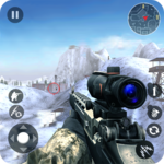 Winter Mountain Sniper - Modern Shooter Combat icon