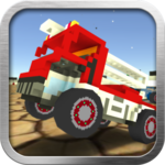 Blocky Car Crash icon