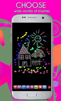 Glowii: Easy Neon Doodle Drawing pc screenshot 1