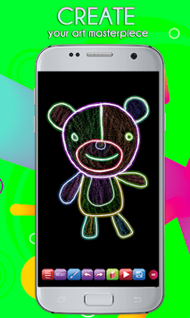Glowii: Easy Neon Doodle Drawing pc screenshot 2