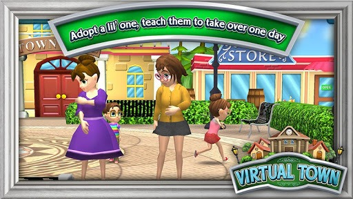 Virtual Town pc screenshot 1
