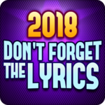 Don't Forget the Lyrics 2018 for pc logo