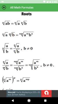 All Math Formulas pc screenshot 1