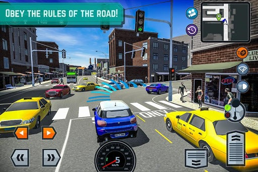 Car Driving School Simulator pc screenshot 1