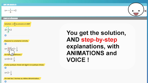 Boom Math Step-by-step Solver pc screenshot 1