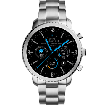Marine Commander Watch Face for WearOS pc screenshot 1