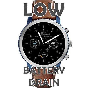 Marine Commander Watch Face for WearOS pc screenshot 2