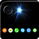 Free Automatic Brightest flash on call and SMS icon