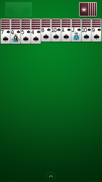 Spider Solitaire pc screenshot 1