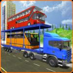 Bus Transporter Truck 2017 - City Bus Simulator icon