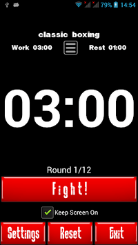 Boxing Interval Timer pc screenshot 1
