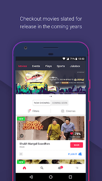 BookMyShow - Movies, Events & Sports Match Tickets pc screenshot 1
