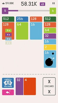 Twenty48 Solitaire pc screenshot 2
