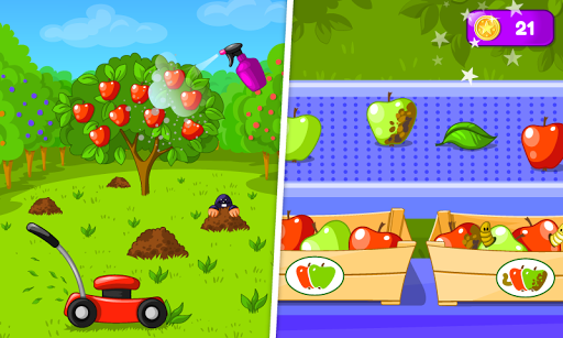 Garden Game for Kids pc screenshot 1