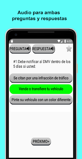 Examen de manejo DMV en CA 2021 pc screenshot 1