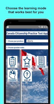Canadian Citizenship Test 2019 pc screenshot 1