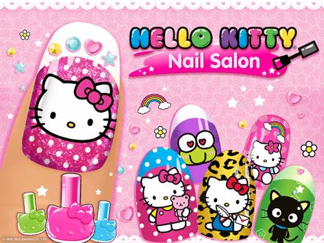 Hello Kitty Nail Salon pc screenshot 1