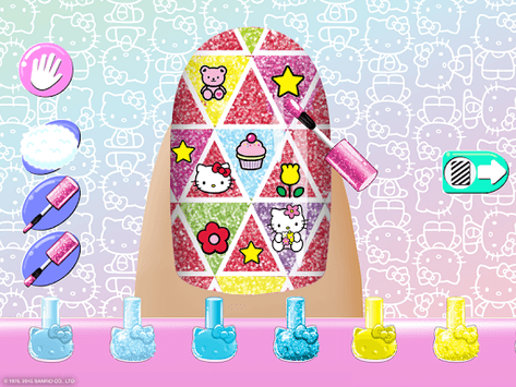 Hello Kitty Nail Salon pc screenshot 2