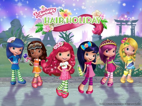 Strawberry Shortcake Holiday Hair pc screenshot 1