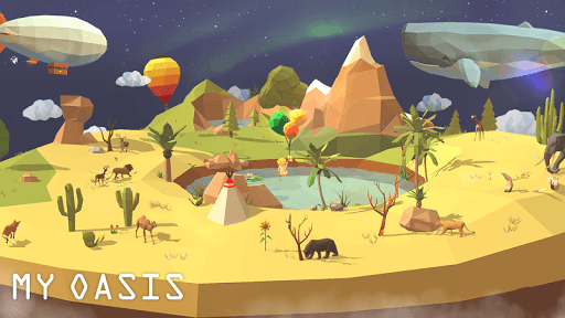 My Oasis - Calming and Relaxing Incremental Game pc screenshot 1