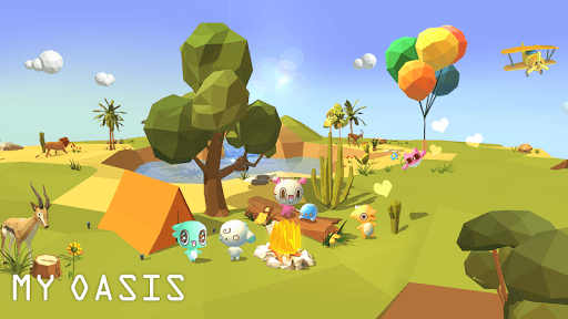 My Oasis - Calming and Relaxing Incremental Game pc screenshot 2