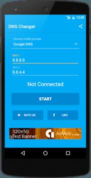 DNS Changer (no root 3G/WiFi) pc screenshot 1