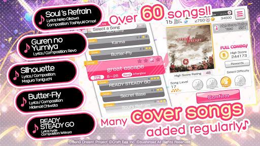 BanG Dream! Girls Band Party! pc screenshot 2